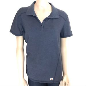 Carhartt Tops - Carhartt Force® Size Large Short SleevePolo Shirt